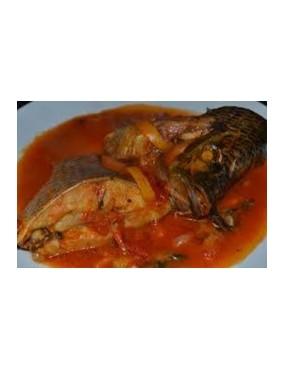 Sauce poisson frais + couscous